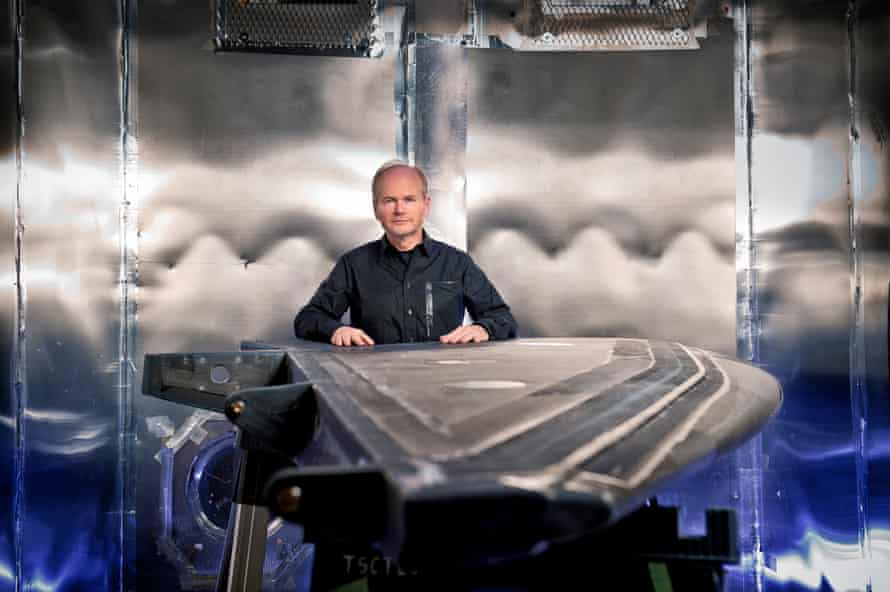 Virgin Galactic's chief test pilot, Dave Mackay