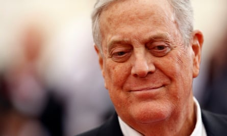 David Koch promoted rightwing and libertarian causes.