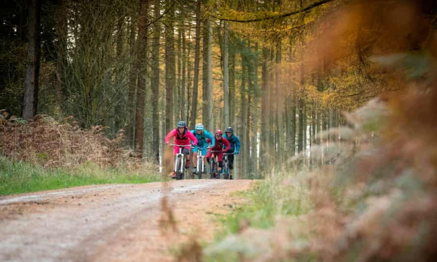 North York Moors cycling