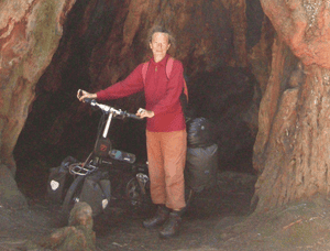Monika Billen, a 62-year-old German national who has been reported missing after leaving Alice Springs.