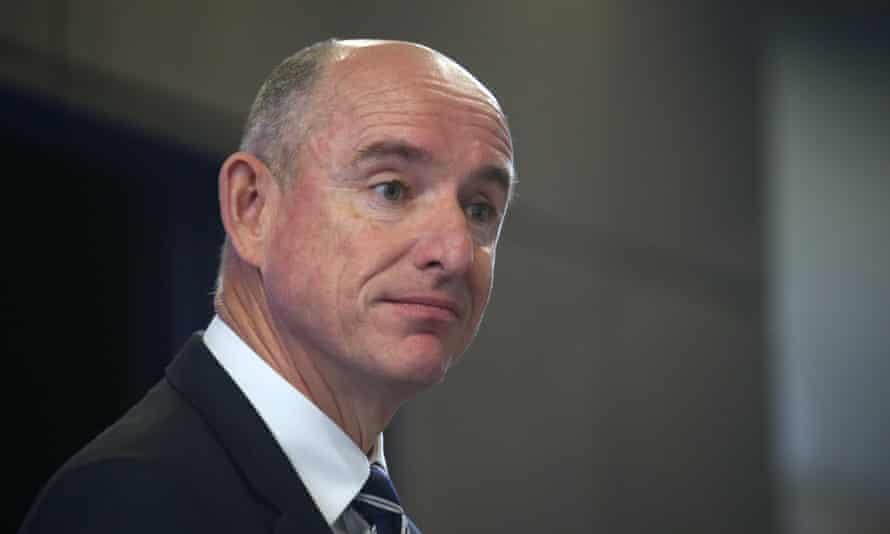 Australia's government services minister Stuart Robert