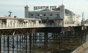 The Grade II-listed Brighton Pier is being sold for £18m.