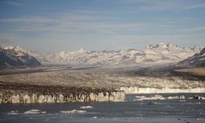 Peak district … glacier near Cordova, Alaska