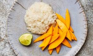 Meera Sodha's mango sticky rice recipe.