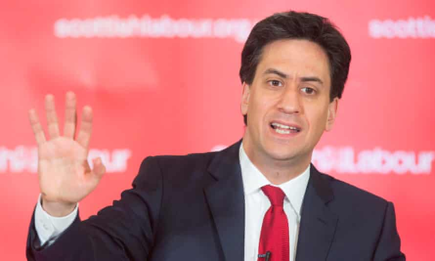 Ed Miliband launched his attack with Labour facing a grave threat from the joint, though apparently uncoordinated, tactics of the SNP and the Tories.