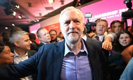 Jeremy Corbyn Labour leader