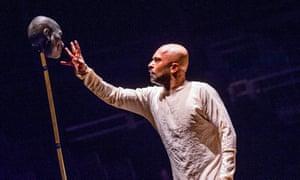 Khan as Bheeshma, 'a man of iron-cast principles'.