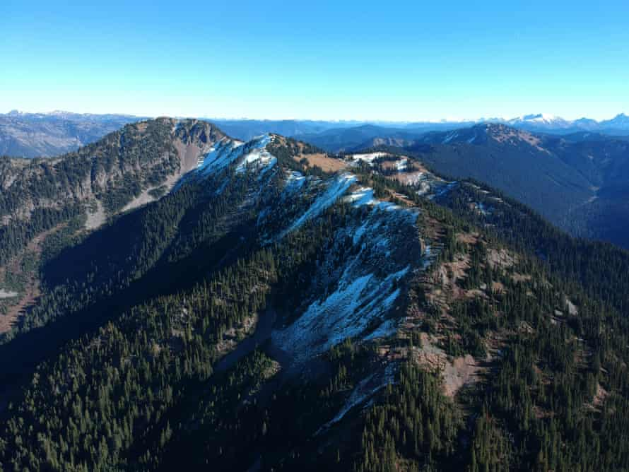 Claimstake Mountain, in the Skagit River headwaters.