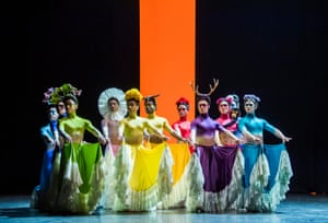 A scene from Broken Wings, part of She Persisted by English National Ballet at Sadler's Wells.