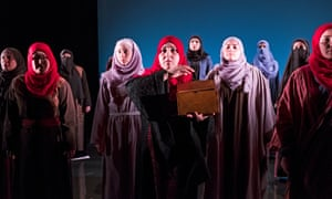 'The beginnings of power': Queens of Syria at the Young Vic and touring.