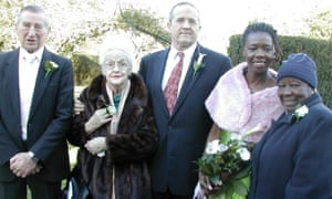 Icilda Williams at a family wedding