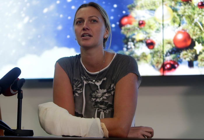 Petra Kvitova: 'I'll never forget the attack but I'm trying to love