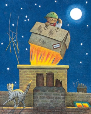 Baby Bear sets out to enjoy one more adventure before bedtime, in Jill Murphy's classic picture book Whatever Next