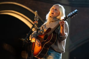 Laura Marling at the Union Chapel, 6 June 2020.