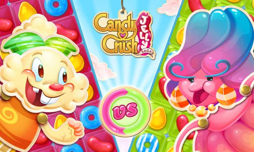 Candy Crush Jelly Saga has more of a focus on characters.