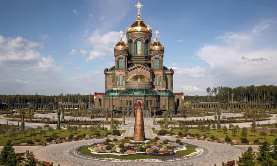 The Cathedral of the Armed forces, in Patriot Park, Kubinka
