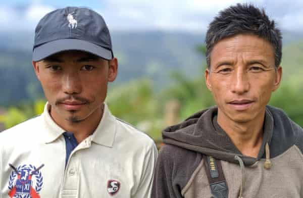 Two Sumi Naga hunters turned conservationists. One is Ivito, quoted in the article.