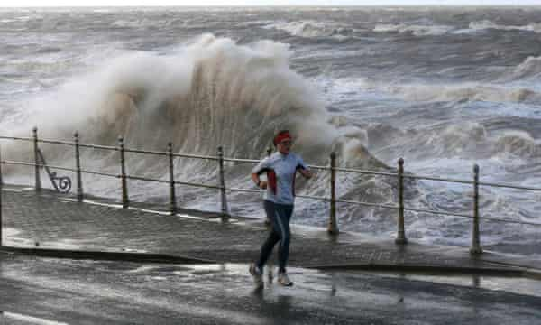OK, so probably not the weather you want in Blackpool ...