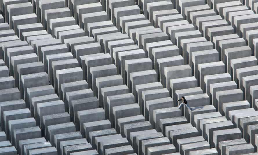 The Memorial to the Murdered Jews of Europe.