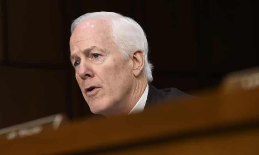 Republican Texas senator John Cornyn, the bill's lead sponsor, said Democrats had more than a month to review the human trafficking bill which includes an anti-abortion provision.