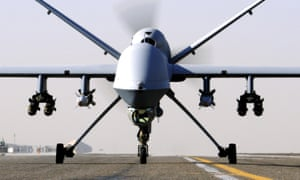 An RAF Reaper drone. Ten of them are in use over Iraq and Syria.