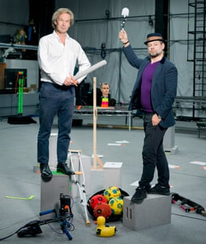 'The key to the new technology is its fidelity to the actor's performance': the Imaginarium's Jonathan Cavendish (left) and Andy Serkis.