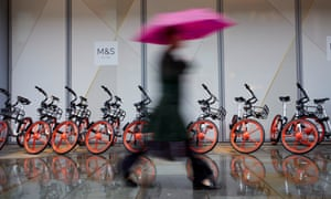 Mobikes in Manchester