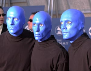 IKB … The Blue Man Group