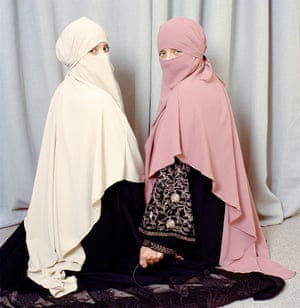 Untitled, from the series My Hijab Has a Voice: Revisited'