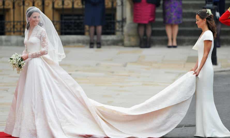 Alexander McQueen at the royal wedding