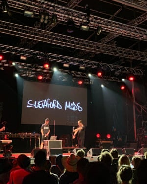 Sleaford Mods set about some truth telling.