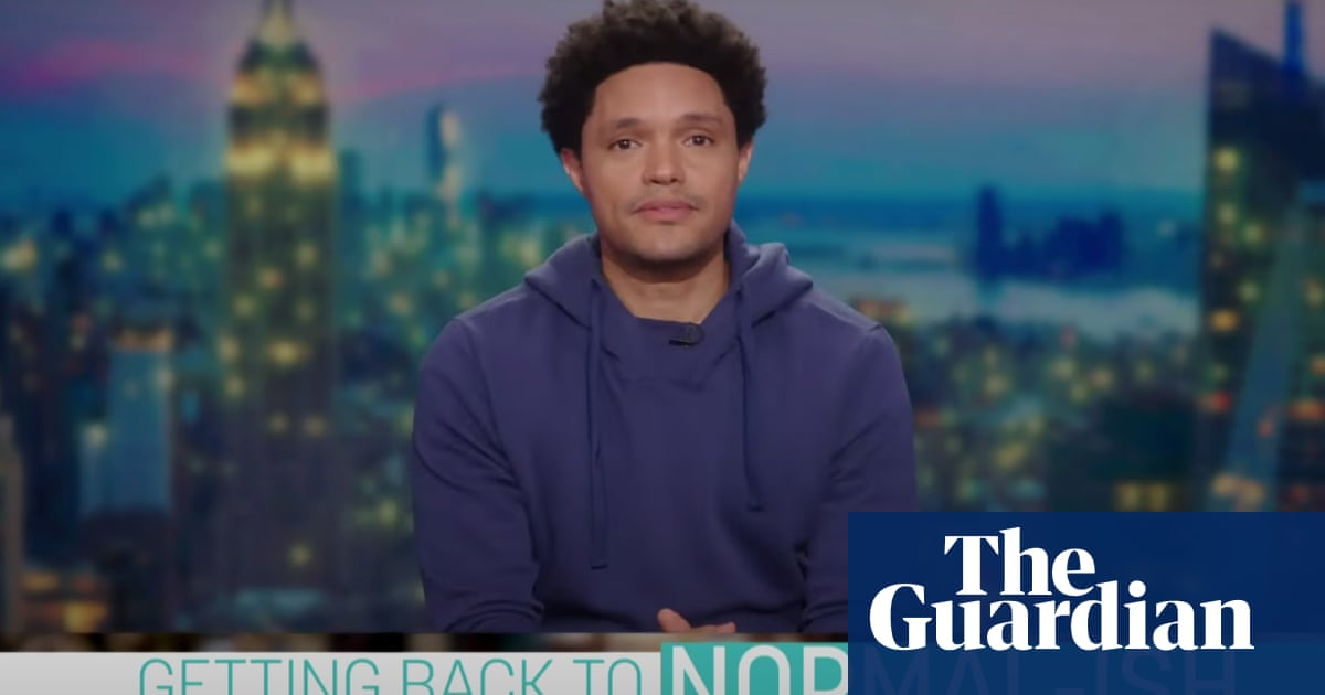 Trevor Noah: 'The pandemic has given people a million reasons to quit their jobs'