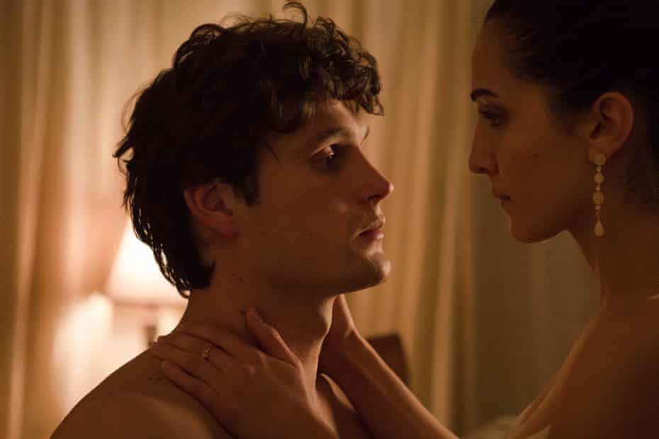 Jerome Meyer and Maggie Naouri in the film Joe Cinque's Consolation, based on the book by Helen Garner.