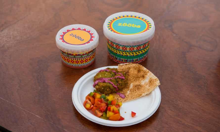 Zooba's winning falafel offering.