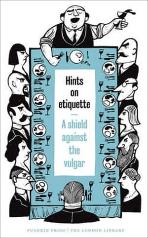David Pearson's cover for Hints on Etiquette.