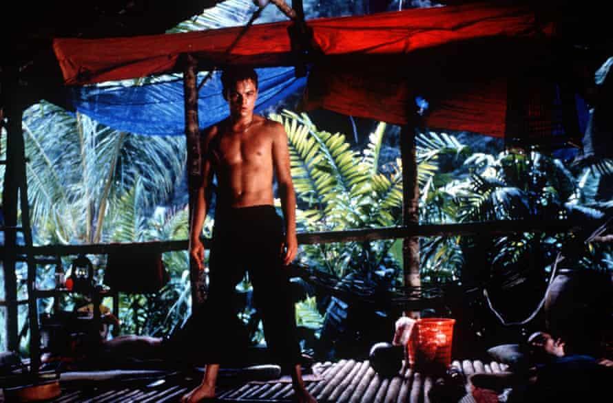 Leonardo DiCaprio in The Beach