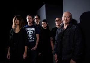 US rock band Puscifer fronted by Maynard James Keenan of Tool fame, credit Tim Cadiente