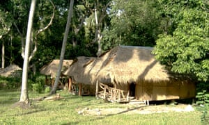 Bungalow accommodation at Koh Kradan, Thailand.