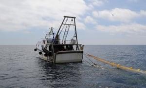 A fishing vessel