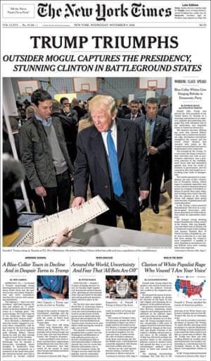 New York Times, US
