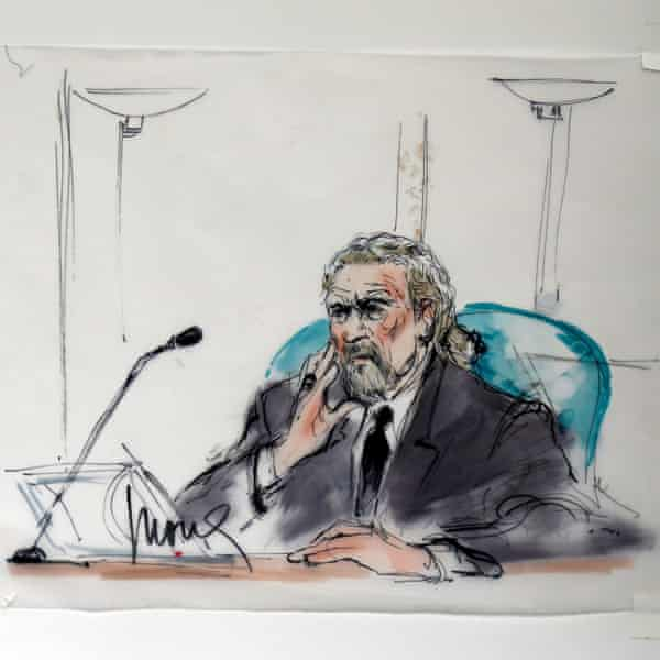 Led Zeppelin singer Robert Plant in court.