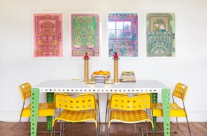 Bringing colour home: a fashion designer's house | Life and