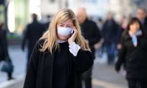 Worsening air pollution in London is leading some to wear face masks