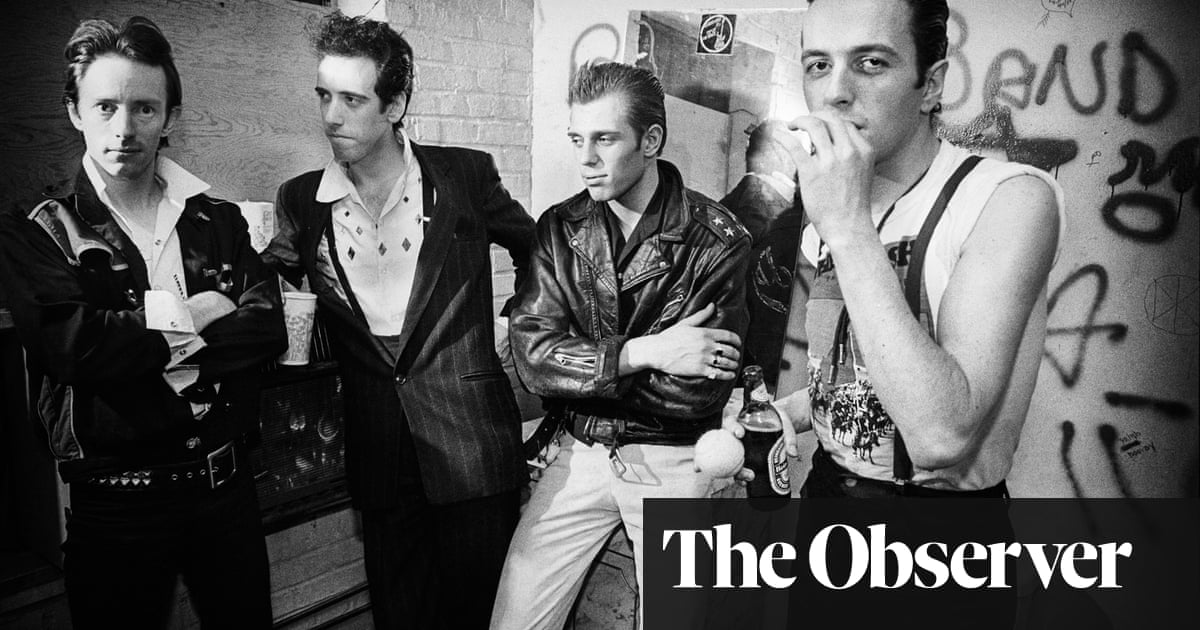 A lust for life … my years backstage with the giants of punk