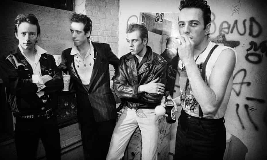 The Clash photographed in New York in 1981.