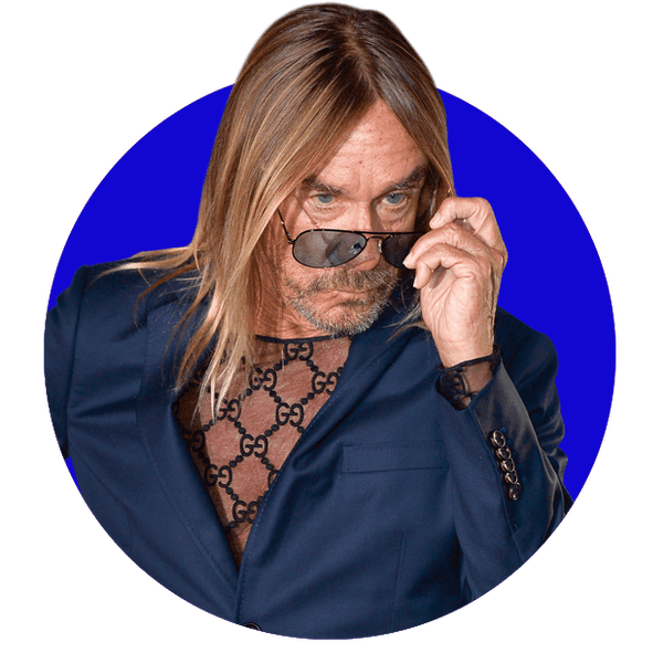 Fuel for thought: what do you eat, drink, sniff or smoke, asks Iggy Pop.