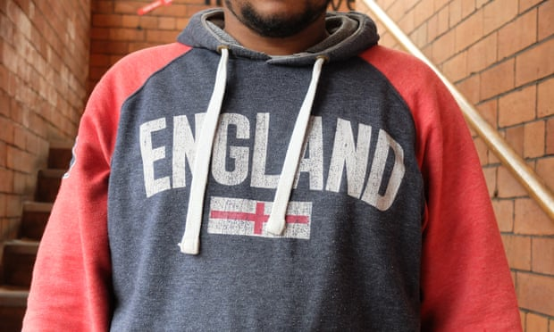 Zecahrias, an Eritrean refugee, at Leeds PAFRAS service for refugees