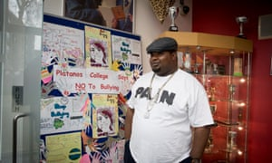 Big Narstie drops in to his old school, Platanos college.