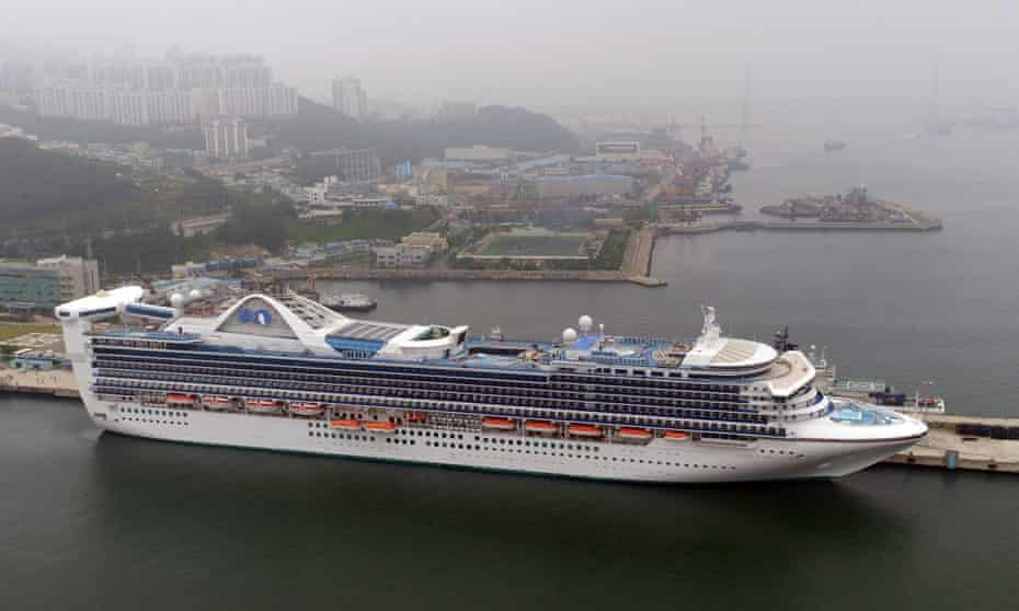 Many large ocean liners run on giant diesel engines, which can stand at more than three stories tall and span the length of two school buses. This equipment can emit dangerous levels of sulfur dioxide.