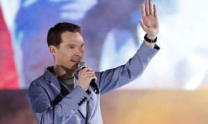 'Young British actor' Benedict Cumberbatch, who is set to star in Neil Gaiman's series Good Omens.